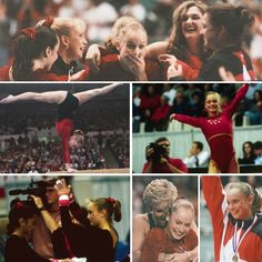 Georgia's Karin Lichey, the only NCAA gymnast to score a perfect all around score of 40.000 on Feb. 23, 1996!