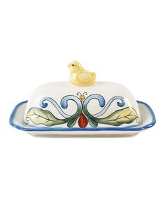 Ricamo Butter Dish & Cover by Fitz and Floyd on #zulily