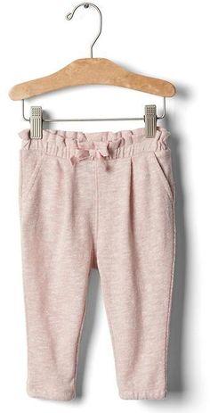 Marled soft pants