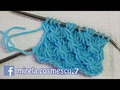 Caciula tricotata - Fes tricotat cel mai usor model pentru incepatori - YouTube