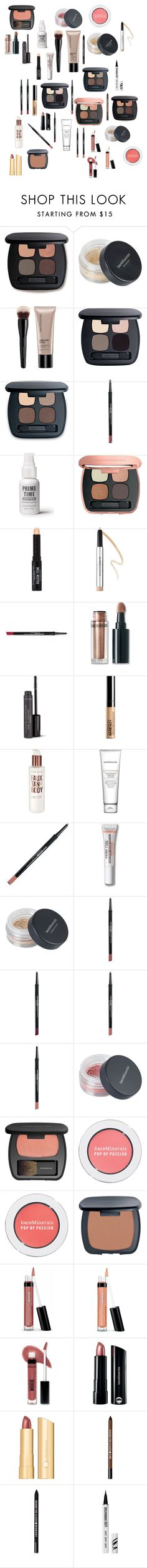 """""""Bare minerals products """" by molly-b2002 ❤ liked on Polyvore featuring beauty and Bare Escentuals"""
