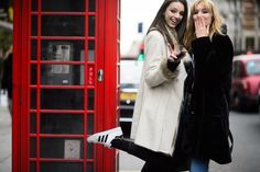 On the Streets of London Fashion Week Fall 2015