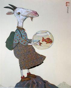 the wonderful art of Wolf Erlbruch