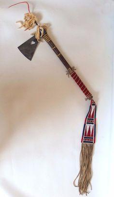 Replica Upper Missouri tomahawk by Lukas Navratil of the Czech Republic