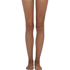 Wolford Sixty-Six Fishnet Tights ($48) ❤ liked on Polyvore