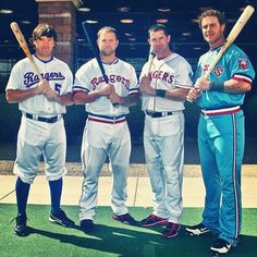 Texas Rangers' 40th Anniversary Year. I can't wait for throwback uniform games.
