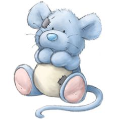 Cheddar the Mouse / Tatty Teddy ♥≻★≺♥ Tatty Teddy, Teddy Bear, Cute Images, Cute Pictures, Baby Pictures, Cute Drawings, Animal Drawings, Baby Animals, Cute Animals