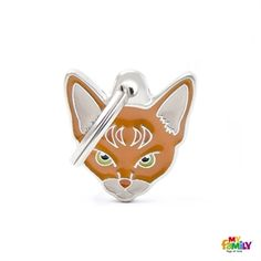 Show details for Abyssinian Cat Tag www.myfamily.it