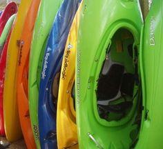 Used Whitewater Kayaks