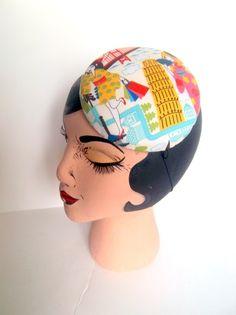 Geisha Girl Cocktail Hat by AMANDA G. JOYNER #HatAcademy #millinery