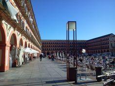 La plaza de la corredera (Córdoba)