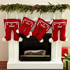 Knit Long John Stockings, Personal Creations