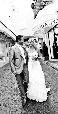 Church Wedding, Wedding Ceremony, Capri Italy, Beautiful Islands, Destination Wedding, Groom, Wedding Photography, Bride, Celebrities