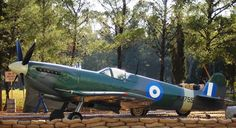 Supermarine Spitfire Mk IXc Ww2 Spitfire, Supermarine Spitfire, Ww2 Fighter Planes, Fighter Jets, Ww2 Aircraft, Military Aircraft, Hellenic Air Force, Battle Of Britain, Aviation Art