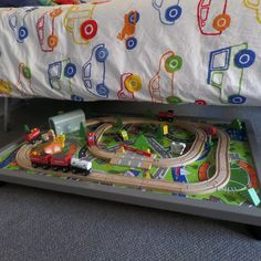 Under Bed Train Trundle Drawer