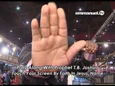 Witness the power of God Almighty touch every department of your life as you join Prophet T. Joshua in this powerful time of prayer. Emmanuel Tv, T.b Joshua, Prayer Times, You Are Blessed, Evil Spirits, New Growth, Self Healing, Touching You, Names Of Jesus