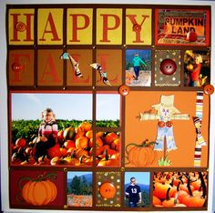 Favorite time of the year! With my youngest being born on Halloween day, this is a great find for some scrapbooking ideas!!!