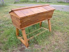 Rustic Top Bar Bee Hive