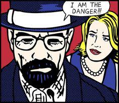 Breaking Bad, Lichtenstein-style.