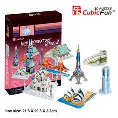3D Puzzle - Mini Architecture Series 2 - SuperSmartChoices