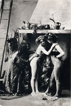 Witches' Sabbat in Paris, c. 1910