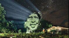 Première Mondiale: du Street Art au coeur de la Forêt Amazonienne - World First Street Art in the Rainforest. on Vimeo