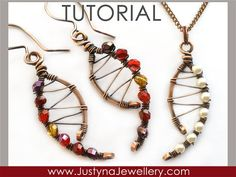 Wire Jewelry Tutorial Wirewrapping Jewelry by JustynaJewellery, $4.99