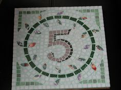 how to make mosaic house number - - Yahoo Image Search Results