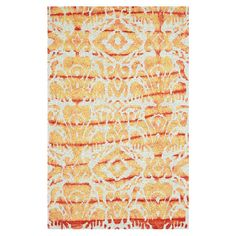 This hand-hooked wool rug is equally at home anchoring your breakfast table or placed in the living room.   Product: Rug...