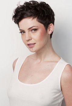 pixie cut fluffy hair - Google Search
