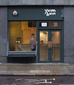Yum Bun street food stall by Rowan Taylor for eks why zed, London hotels and restaurants