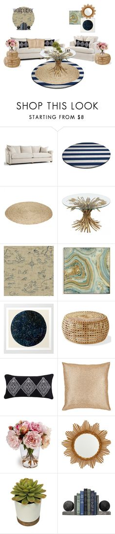 """""""Home Sweet Home"""" by gabi-sweet ❤ liked on Polyvore featuring interior, interiors, interior design, home, home decor, interior decorating, York Wallcoverings, Grandin Road, Aviva Stanoff and Asprey"""