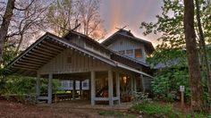 Nestled in the Chattahoochee National Forest, the Hike Inn in Georgia is a secluded retreat offering Appalachian Trail thru-hikers and families a great place to spend the night while taking in the beautiful scenery. (Wade Chandler) | Most Unique Place to Spend the Night in Every State (PHOTOS) | The Weather Channel
