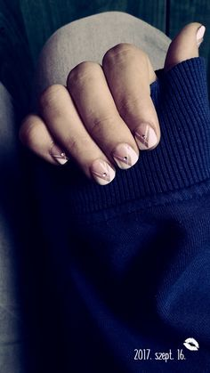 #nail #nails #white #natur #autumn #love