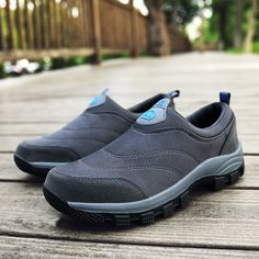 6673139d9c4b US$ 38.84 - Large Size Men Suede Non-slip Slip On Casual Hiking Sneakers