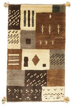ギャッベ ペルシャ 絨毯 67x112