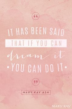 You've got this. | Mary Kay