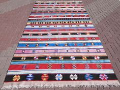 "Anatolia Turkish Antalya Nomads Kilim 78,7"" x 144,4"" Area Rug Kelim Carpet Wool #Turkish"