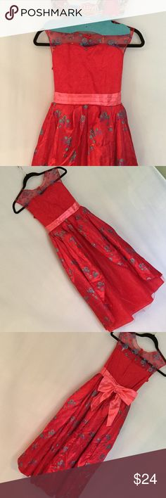 Princess Elena Costume 7/8 Brand new Princess Elena Deluxe Ballgown, runs on the larger side. A  beautiful red satin finish dress with a three layer skirt! Perfect Condition!! 💃🏽💃🏽💃🏽💃🏽 Disney Costumes