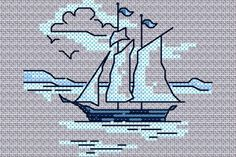 Maria Diaz Designs: Exclusive cross stitch designs, cross stitch charts & cross stitch books  free chart for August 2014 only