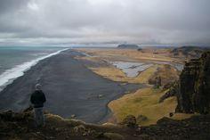 Black Sand Beach Located in Vík Iceland 🇮🇸