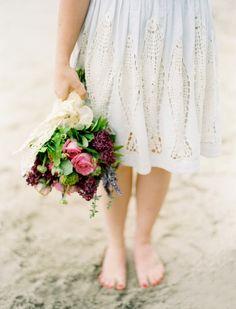 barefoot bride