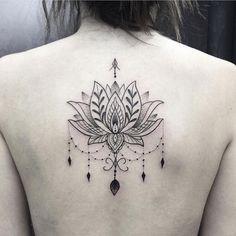 Lotus feita em Lori Sampaio! Valeu a confiança! #fineline #tatuagemfeminina #arte #art #ink #inked ...
