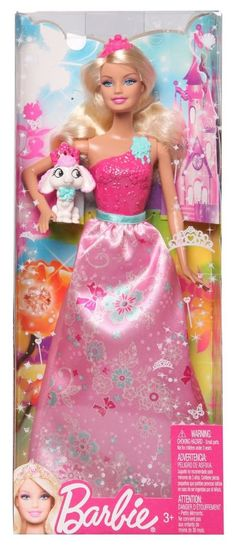 Barbie Fairytale Magic Princess & Pet Poodle Doll New in Box Beautiful Toy Princess Peach, Disney Princess, Mattel Dolls, Poodle, Fairytale, Kids Toys, Great Gifts, Pets, Box