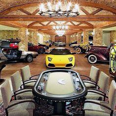 Garage luxury mansions: top 100 best dream garages for men. Mansion Bedroom, Mansion Interior, Dream Car Garage, Garage House, Mansions Homes, Luxury Mansions, Modern Mansion, Man Cave Home Bar, Basement Remodeling