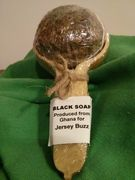 Raw African Black Soap from Jersey Buzz - The benefits of our black soap include: - helps to remove scars caused by acne and skin irritations, i.e. rashes - reducing discomfort associated with skin problems-psoriasis, eczema -  removes chemicals left by make-up -  aids in the prevention and formation of pimples, oily skin concerns. http://www.enviroproductsworld.com/black-soap.html
