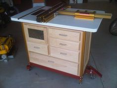 INCRA Router Table Cabinet