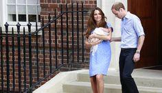 FOTOS: el bebe real fue presentado en sociedad