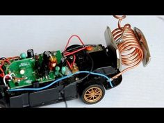 free energy generator powering an RC-car - YouTube