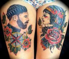 tattoo oberschenkel frau - Google-Suche